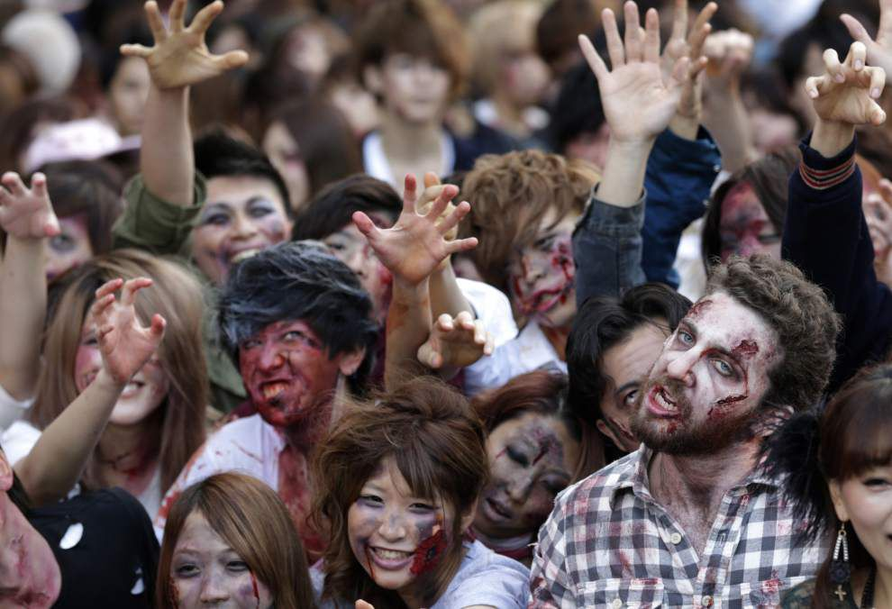 Don't be surprised to see zombies around Louisiana's Capitol this week _lowres