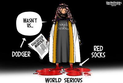 Walt Handelsman: World Serious
