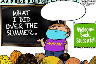School's Back and so is Walt Handelsman's Newest Cartoon Caption Contest! Give THIS one a try!!