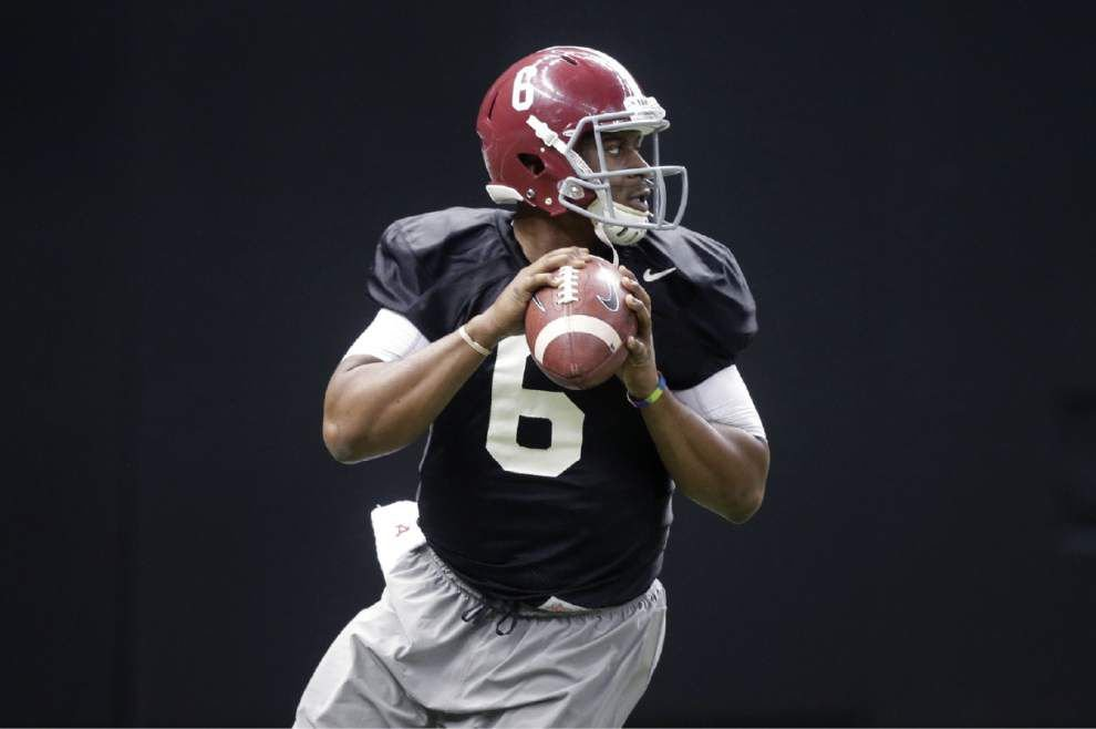 Video: Alabama quarterback Blake Sims says he has learned a lot under offensive coordinator Lane Kiffin _lowres