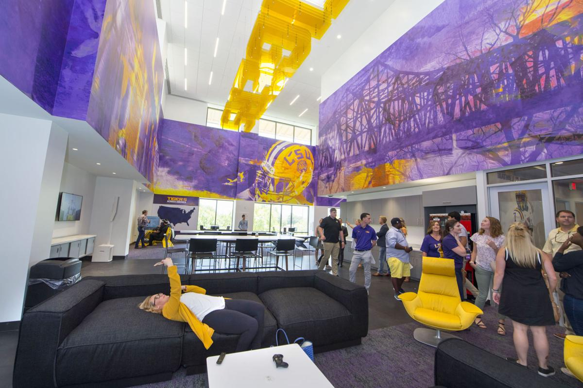 Rabalais Yes Lsu S New Facility Is Over The Top But So