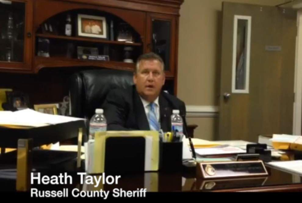 Video: Russell County Sheriff tells of family troubles, gun permit rejection of Lafayette theater shooter John Houser _lowres