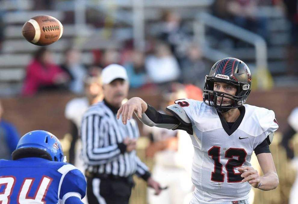 LSU quarterback commit Myles Brennan spikes Ole Miss offer: 'I'm a committed Tiger!' _lowres