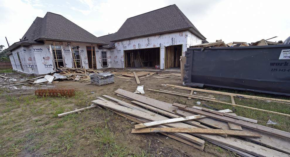 Ascension Parish homebuilders playing catch-up _lowres