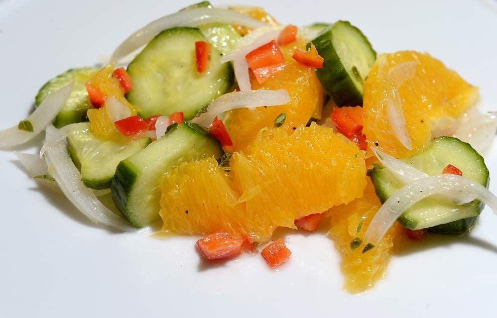 Spicy Cucumber Orange Salad _lowres