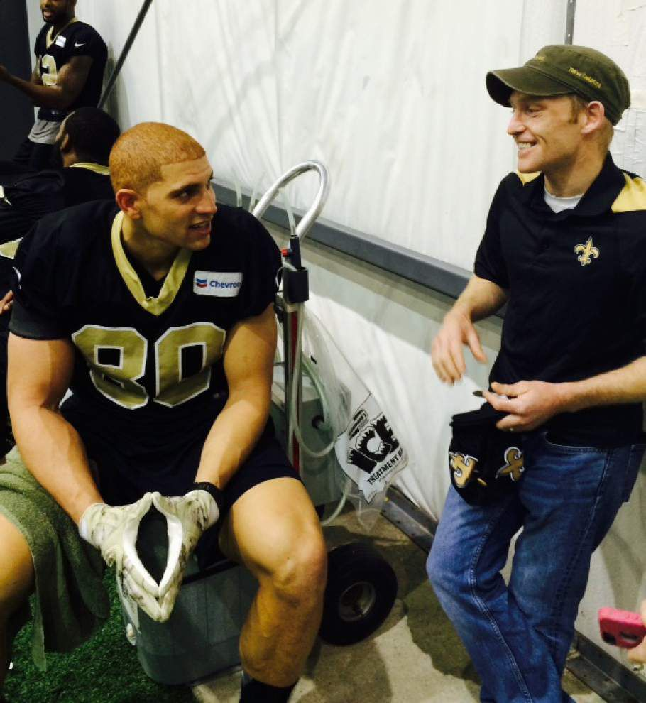 Five things Saints fans will miss about Jimmy Graham _lowres