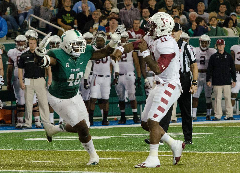 'It's a big opportunity' — Hoping to show what it's made of, Tulane takes on undefeated Temple _lowres