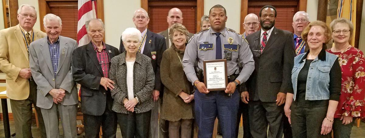 Community: Military Order of the World Wars honors Baton Rouge police office