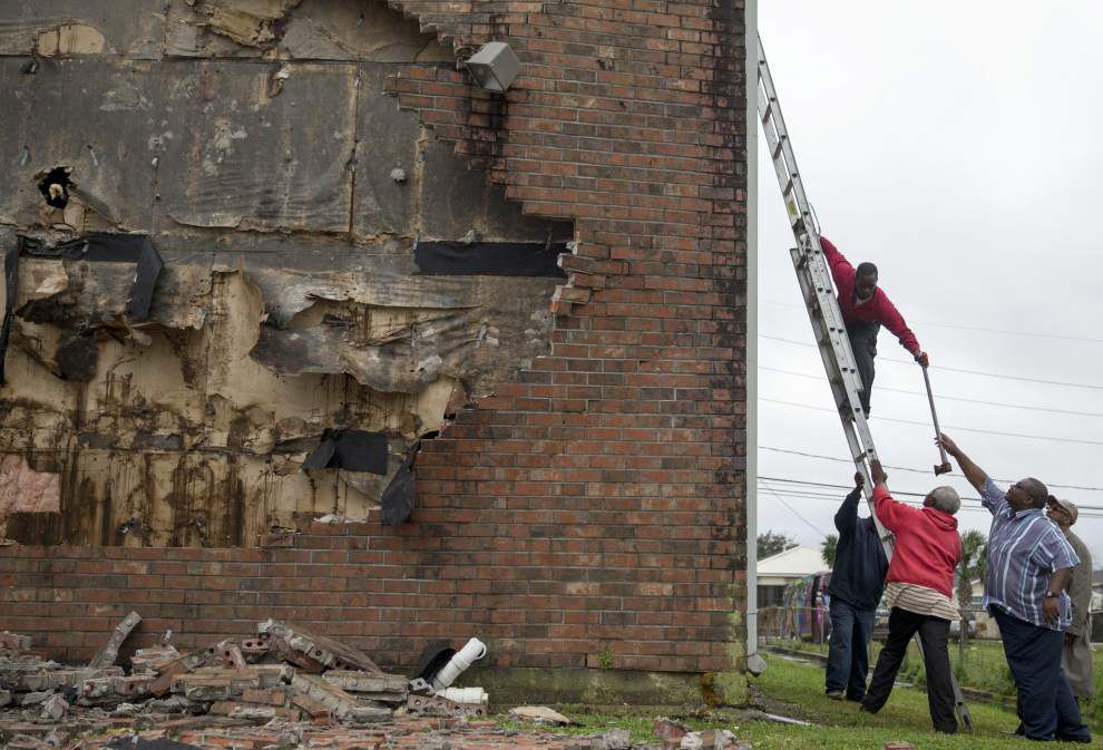 Photos: See photos of severe weather damage across metro New Orleans _lowres