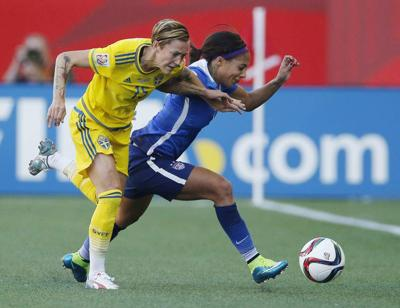 Women's World Cup: Americans play Sweden to 0-0 draw in Group D _lowres