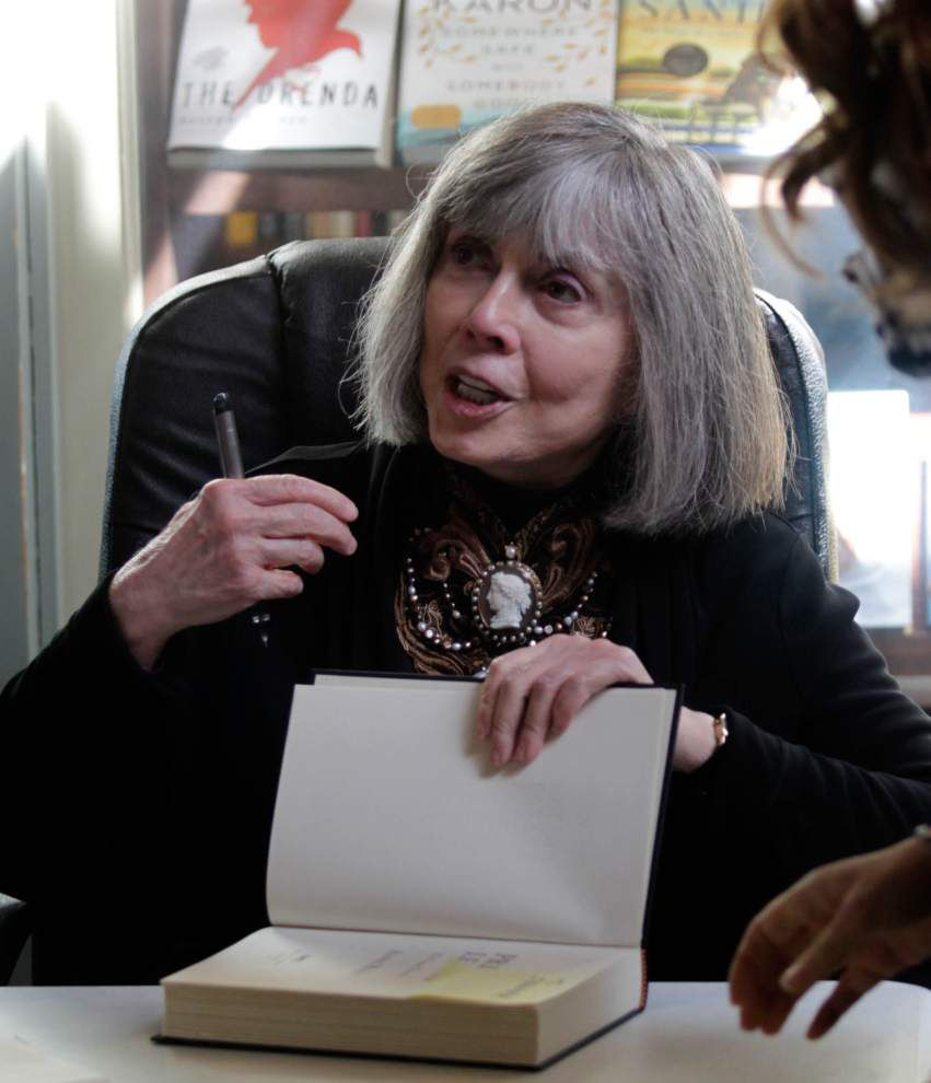 With Lestat revived, Anne Rice eyes return to New Orleans _lowres