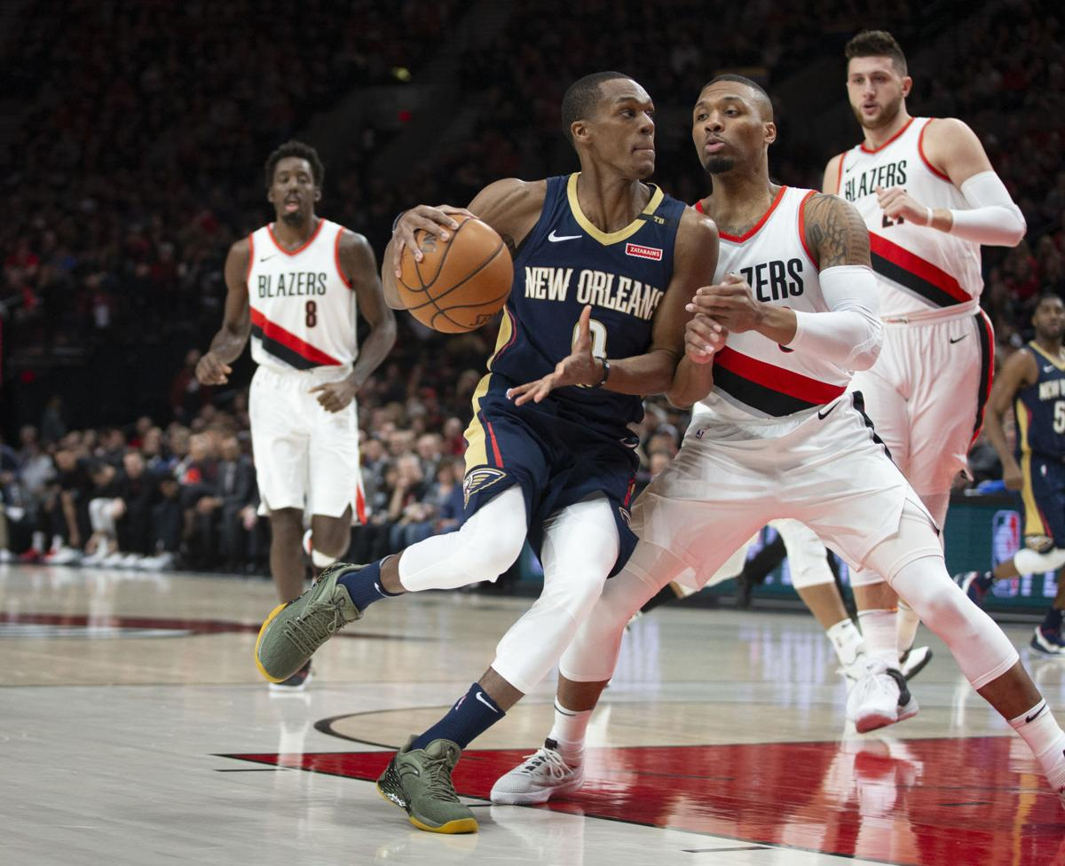 Pelicans Trail Blazers Basketball