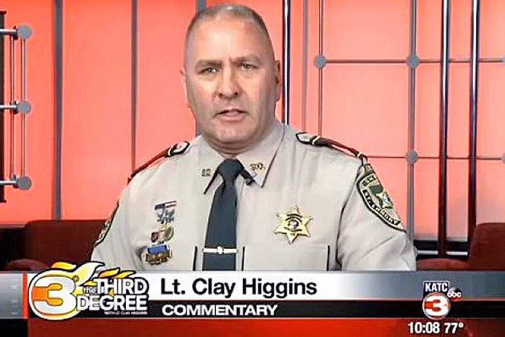 St. Landry deputy finds new meaning, viral fame in his role of no-nonsense sheriff's spokesman _lowres