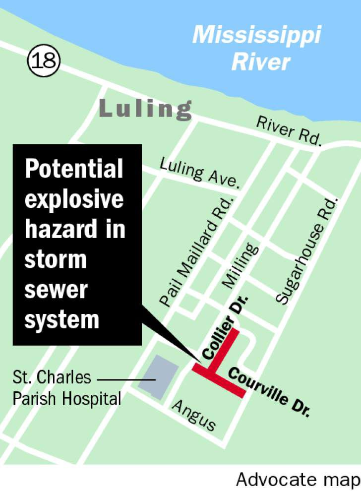 St. Charles officials lift storm sewer warning, investigation underway in St. John Parish to determine cause _lowres