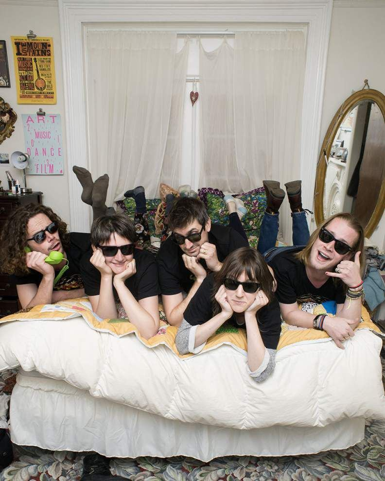 Macauley Culkin parody band Pizza Underground is cheesy and proud of it _lowres