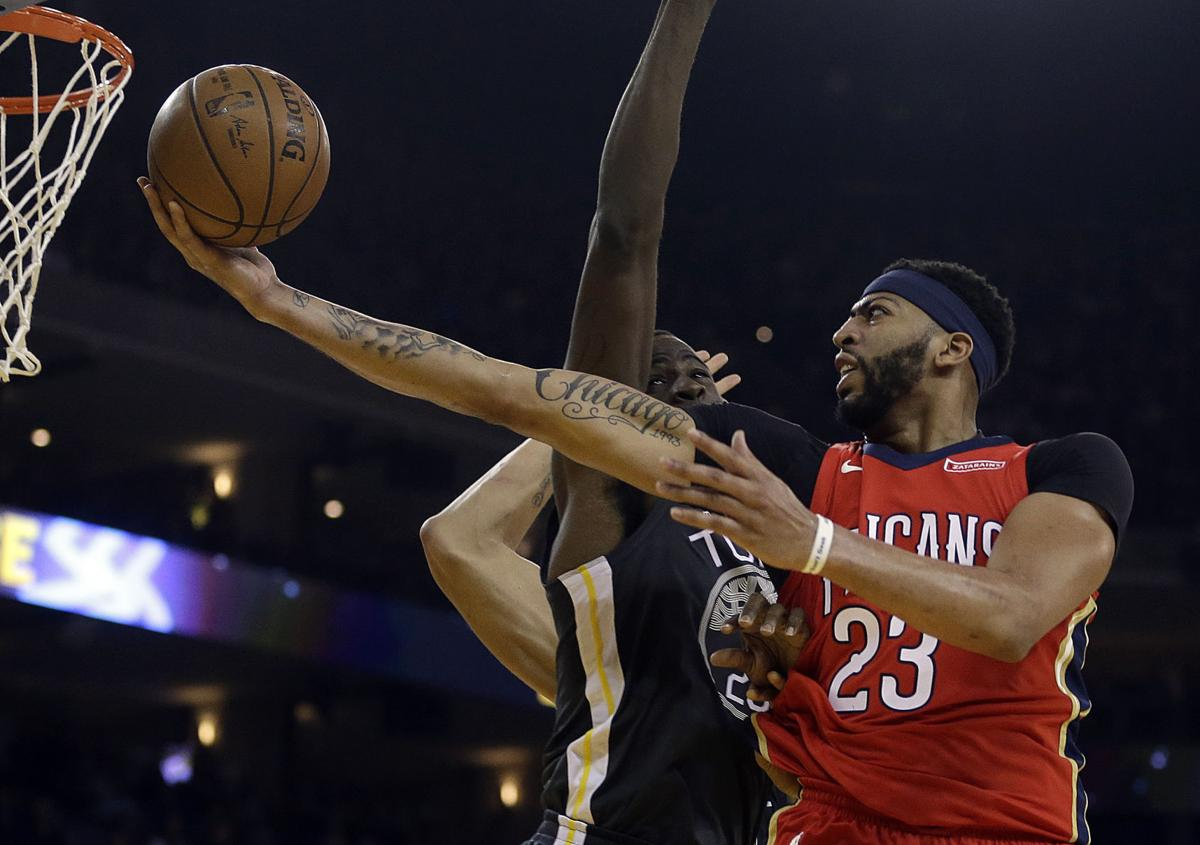 The brow is back anthony davis expected to play friday for Anthony s italian cuisine sacramento