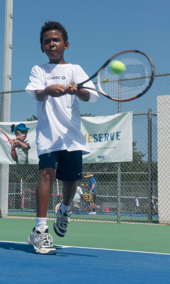 A's & Aces youth tennis program could win a tweet $10,000 _lowres