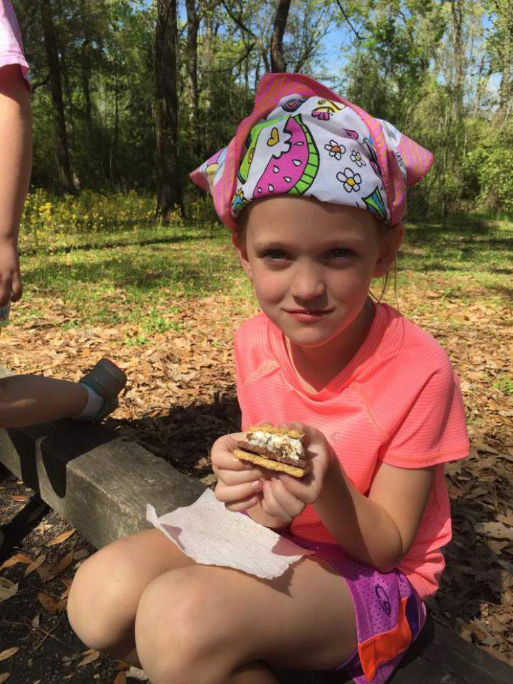 Girl Scouts take part in annual camping outing _lowres