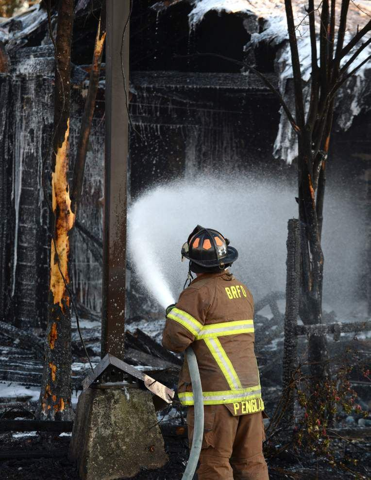 Fire Department: Man attempting to cook steak burns house nearly to the ground _lowres