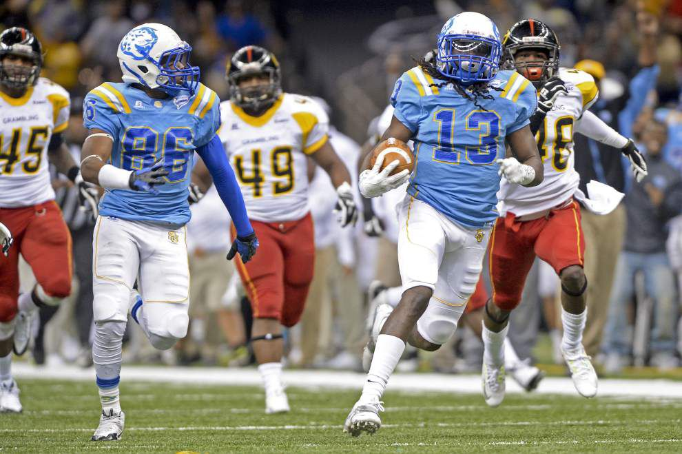 Video: Southern kickoff returner Jaleel Richardson scores deciding touchdown in the Bayou Classic _lowres