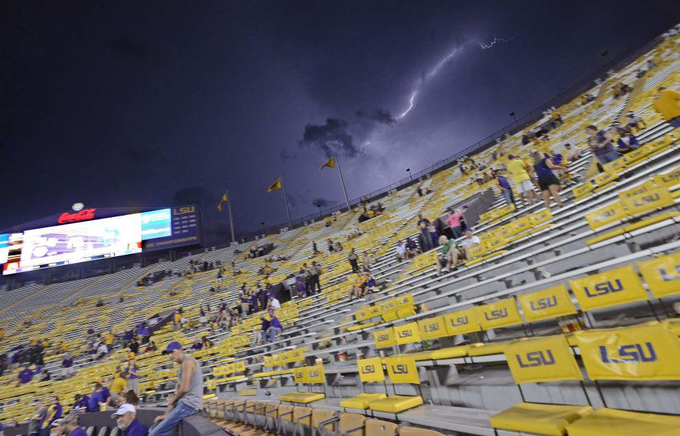 Rabalais: Here's the good news -- and bad news -- after LSU's season opener vs. McNeese State zapped _lowres