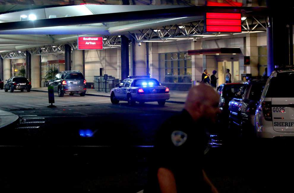 New Orleans airport TSA agent gives first-hand account of attack at press conference _lowres