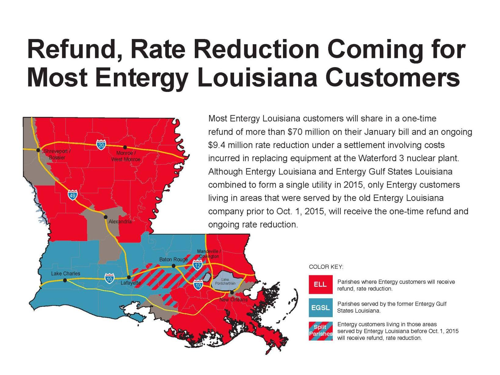 Entergy Customers To See Refund After Agreement Splits Costs On Nuclear Power Plant Mistake Business Theadvocate Com