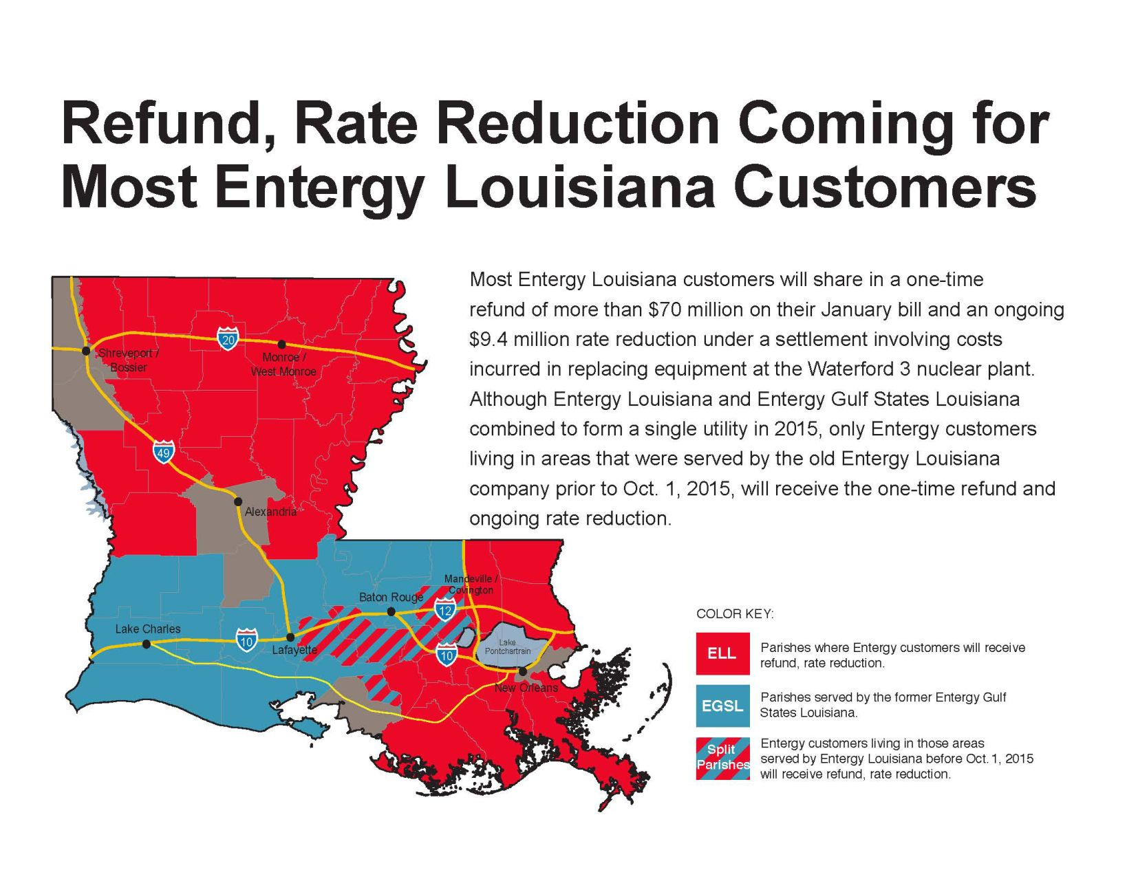 Entergy Customers To See Refund After Agreement Splits Costs On Nuclear  Power Plant Mistake | Business | Theadvocate.com Amazing Design
