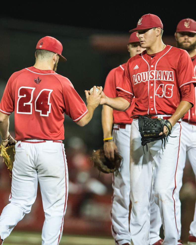 Cajuns come from behind to beat Princeton 5-3 in regional opener _lowres