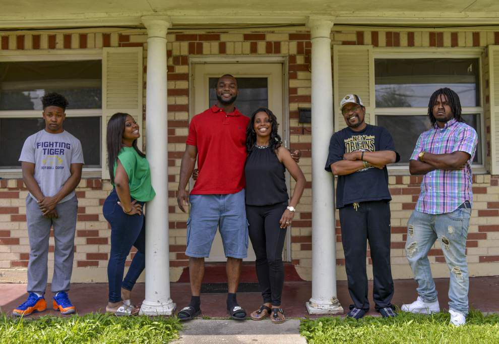 Mother's Day 2015: From devastating injury to the cusp of an NFL career, she's been there every step of the way for Saints' Delvin Breaux _lowres