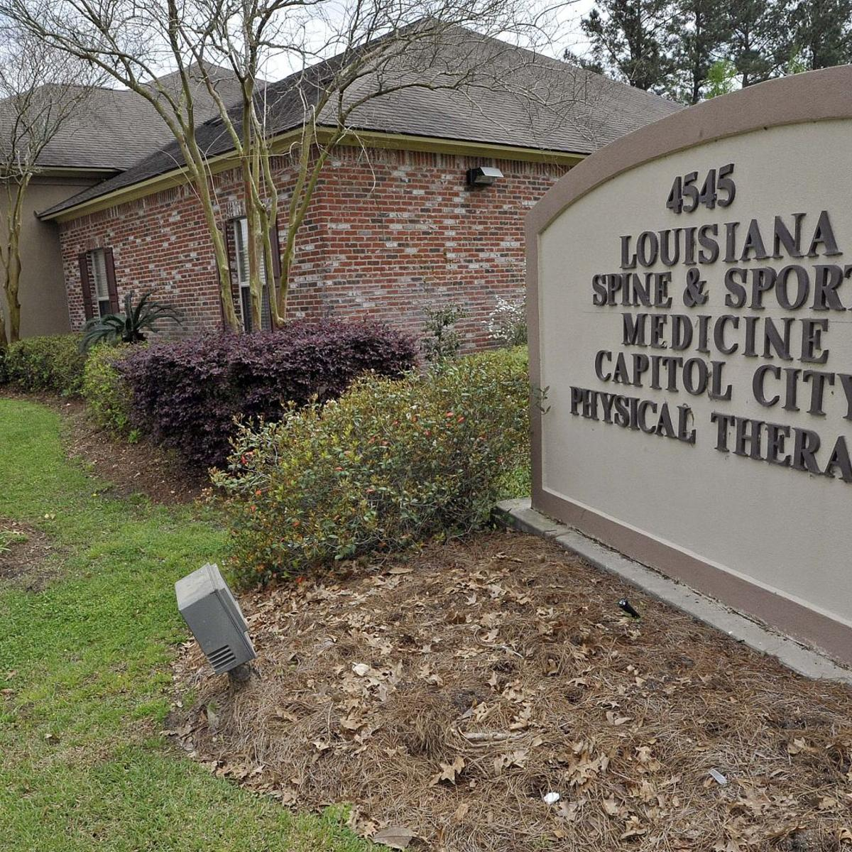 Former Baton Rouge pain management clinic worker gets 7