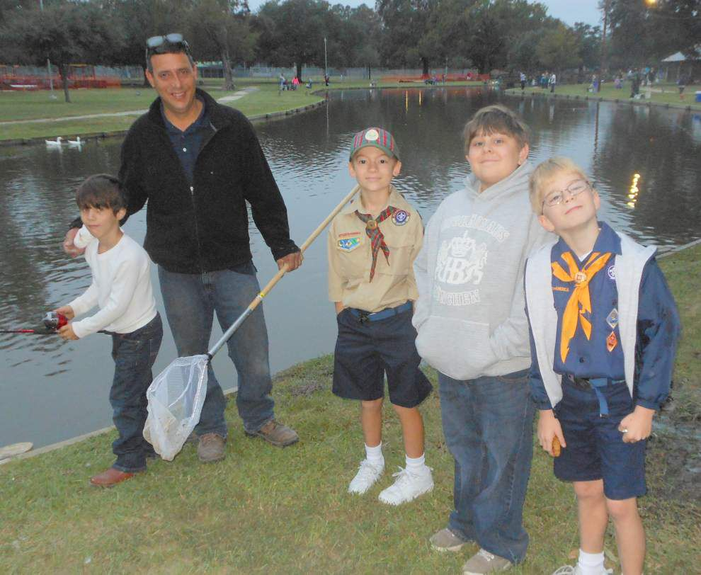 Anglers enjoy reel fun day at Hammond lake _lowres