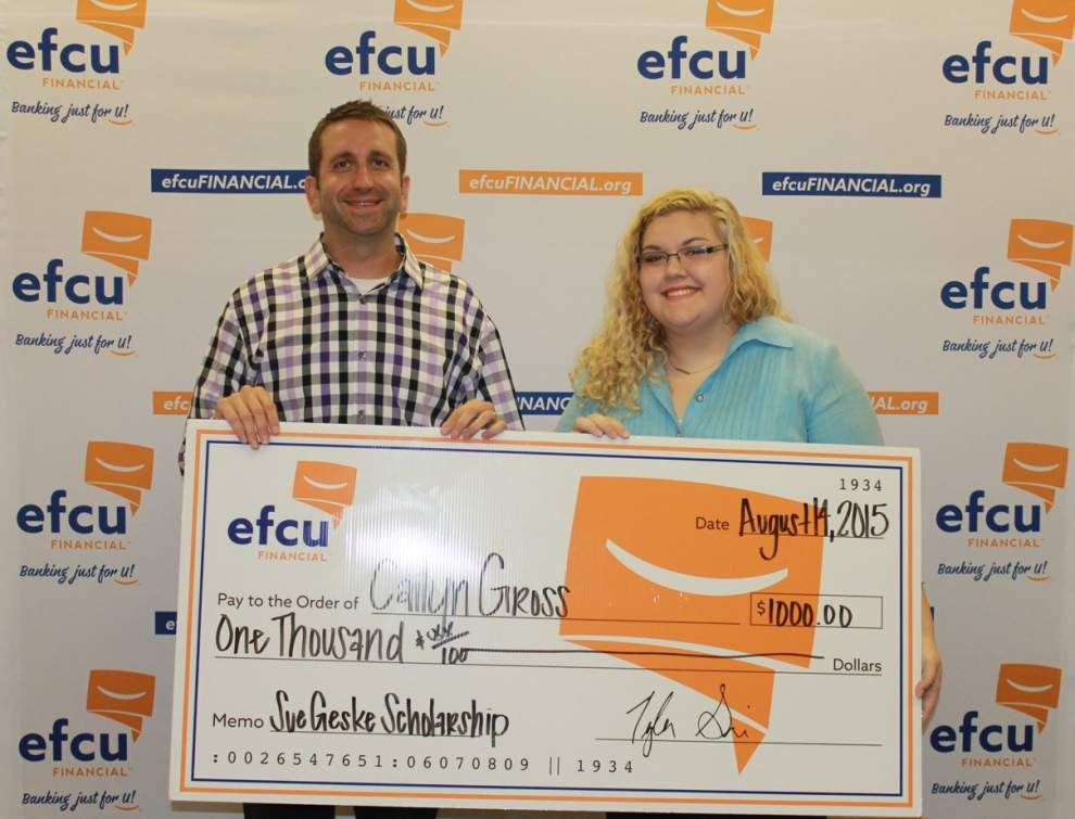 EFCU Financial awards $2,000 in scholarships _lowres