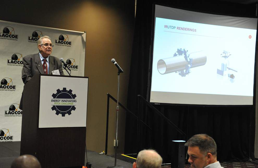 Inventors pitch their energy industry ideas, seeking investors and prize money, at LAGCOE in Lafayette _lowres