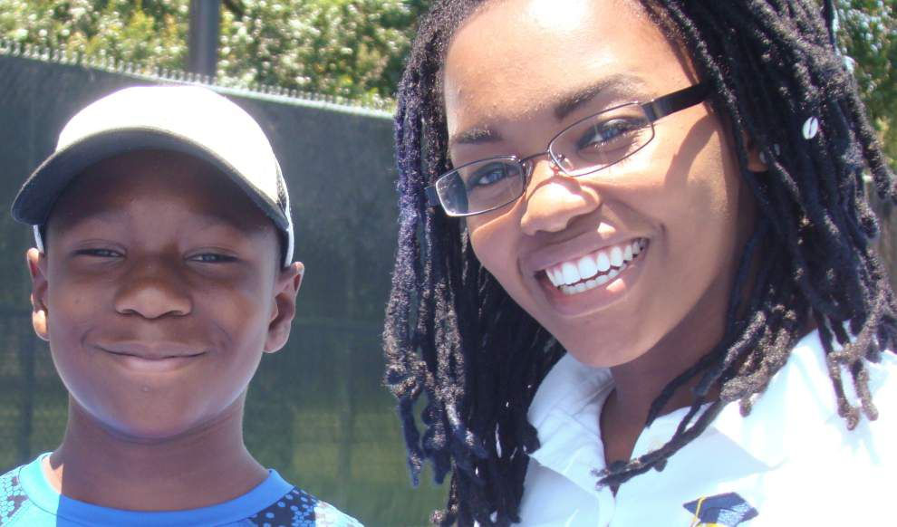 Young resident of eastern New Orleans rewarded for efforts in tennis, literacy _lowres