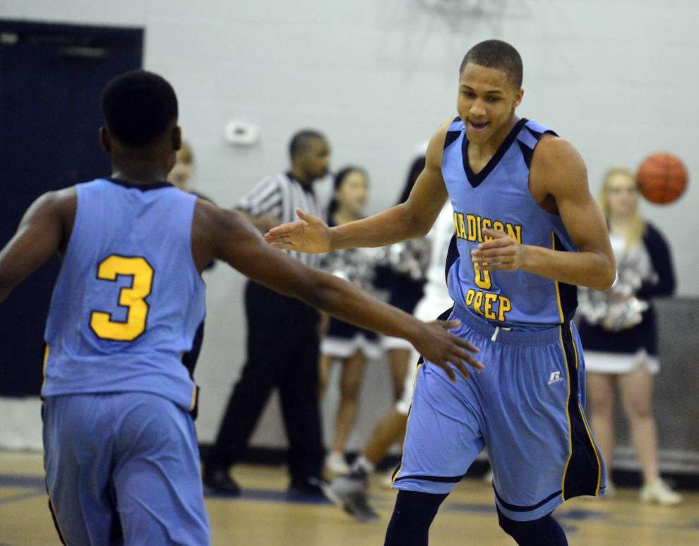 Madison Prep's Brandon Sampson getting a lot of attention _lowres