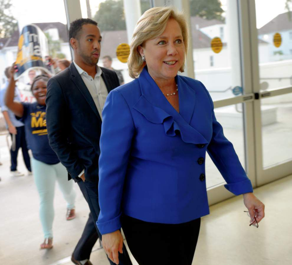 Mary Landrieu, Rob Maness differ sharply during U.S. Senate debate _lowres