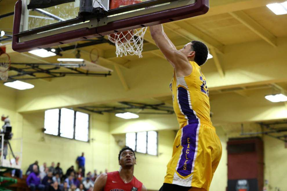 LSU signee Ben Simmons leads Montverde Academy to championship game of the Dick's Sporting Goods High School National basketball tournament _lowres