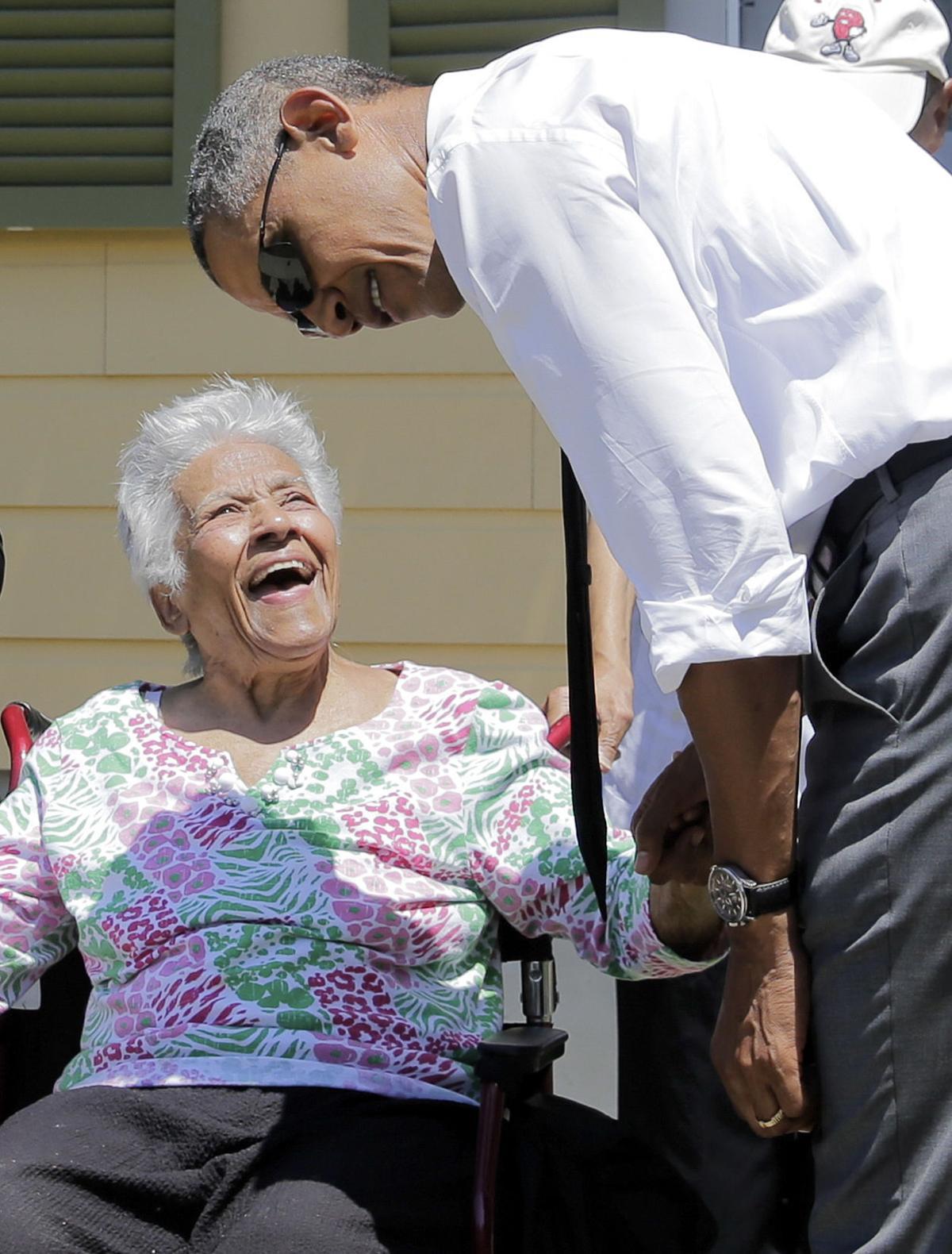 Obama visit President Barack Obama visits New Orleans for 10th