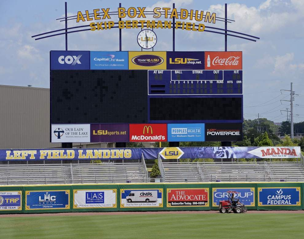 LSU, UL-Lafayette the hottest ticket in town, nearly gone; likely standing room only left for super regional showdown _lowres