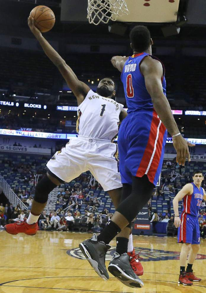 Pelicans guard Tyreke Evans undergoes surgery, out for season _lowres