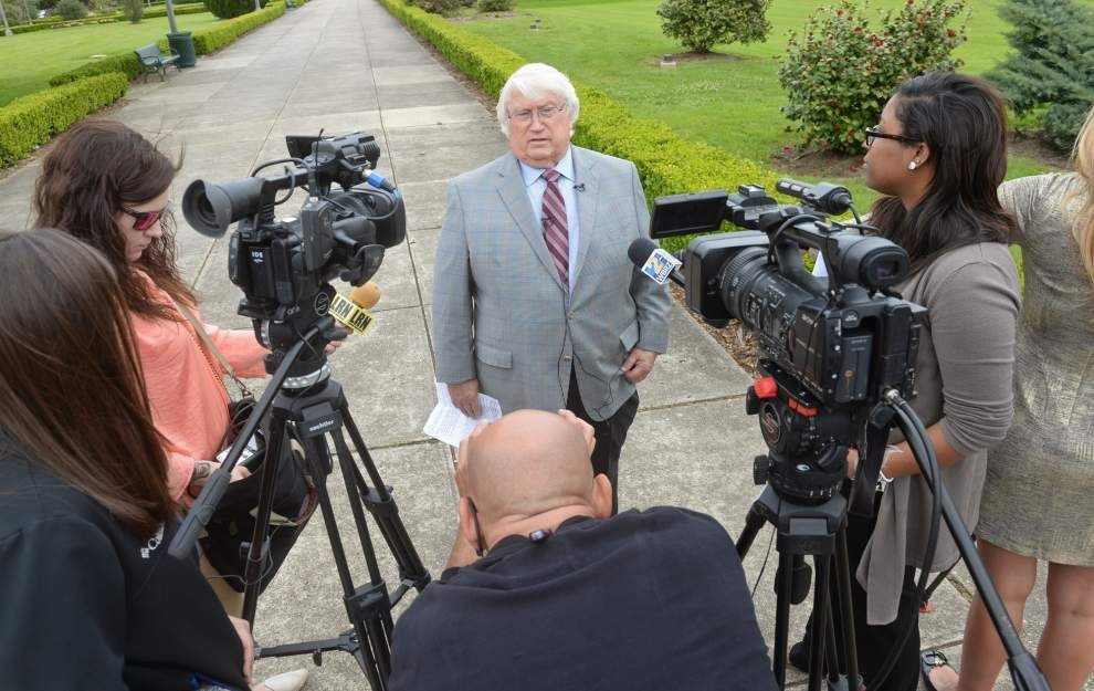 Ex-Angola warden Burl Cain says he's vindicated but he can't talk about it _lowres