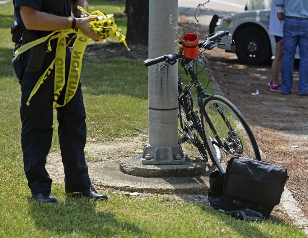 Bicyclist hit by vehicle dies after accident on Goodwood Boulevard _lowres