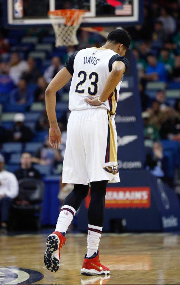 Pelicans' coach Alvin Gentry said forward Anthony Davis expected to play against Los Angeles Clippers _lowres