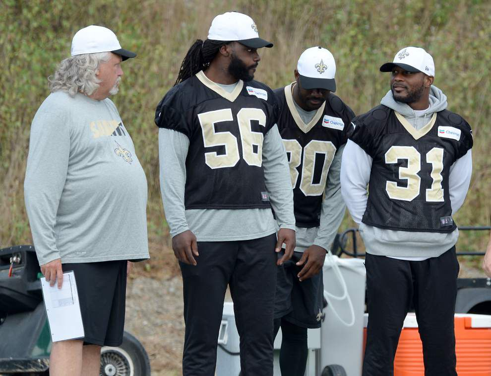 Kenny Vaccaro not worried about Jairus Byrd missing time _lowres