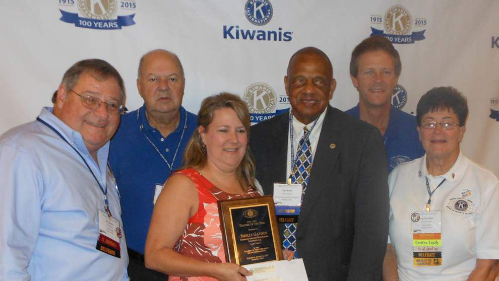 Hammond teacher wins Kiwanis award _lowres