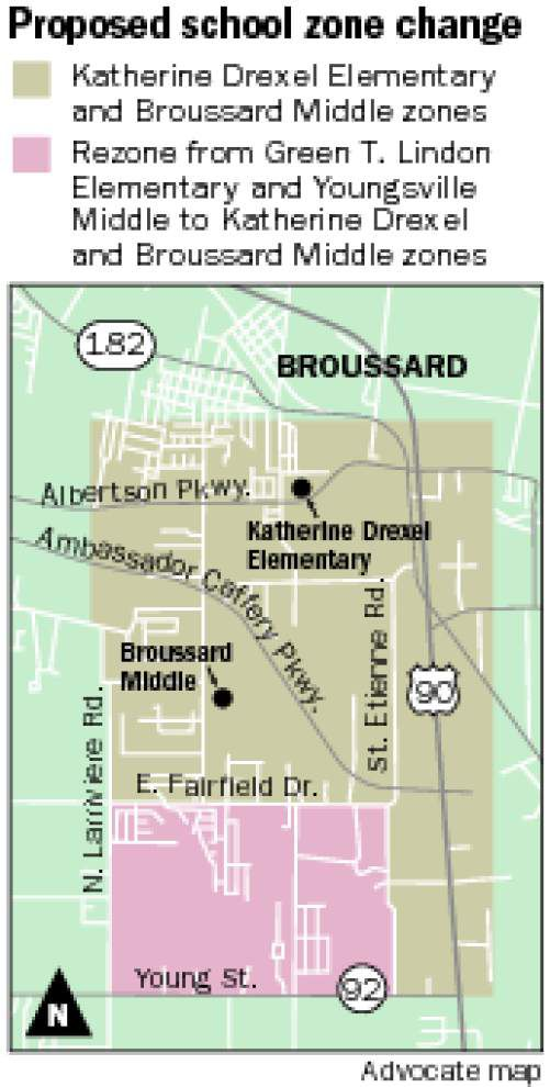Broussard area parents ask Lafayette board member for year's delay in imposing attendance zone changes _lowres