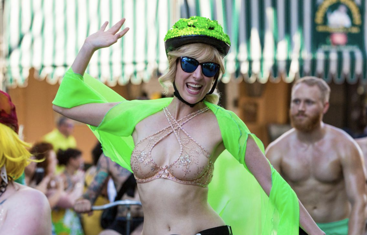 Advocate columnist Dan Fagan is very, very disappointed in the World Naked Bike Ride, New Orleans_lowres