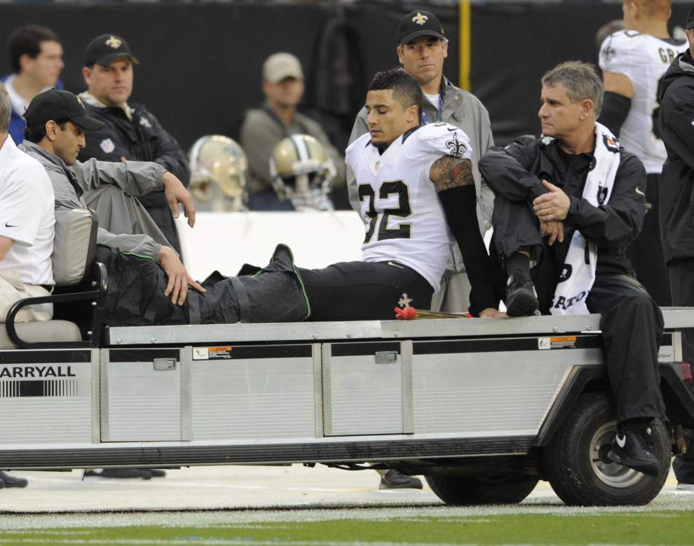 Saints' rookie safety Kenny Vaccaro to have surgery; out for season _lowres