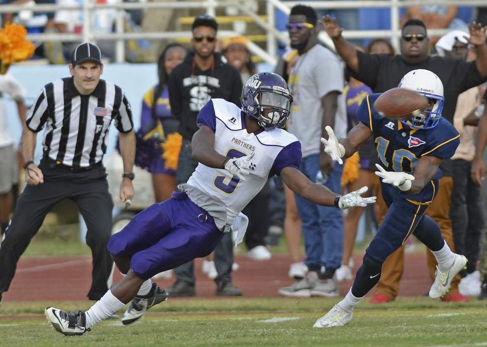 Miscues, Johnta' Hebert spoil Southern's homecoming in 47-42 victory for Prairie View _lowres